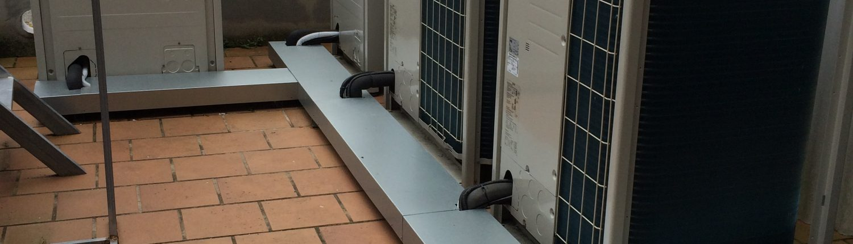 Maquina exterior aire acondicionado